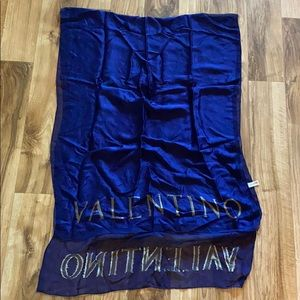 Silk Valentino Wrap Scarf!!